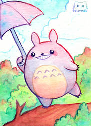 Totoro by Mellymiew