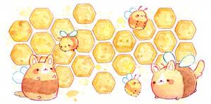 Honey Corgi - Mug Design