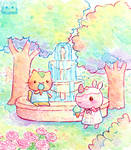 Fountain by Mellymiew