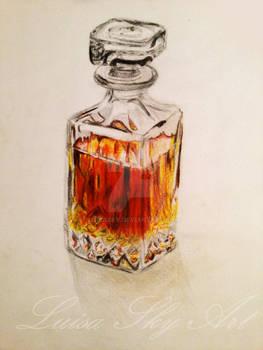 Whiskey carafe