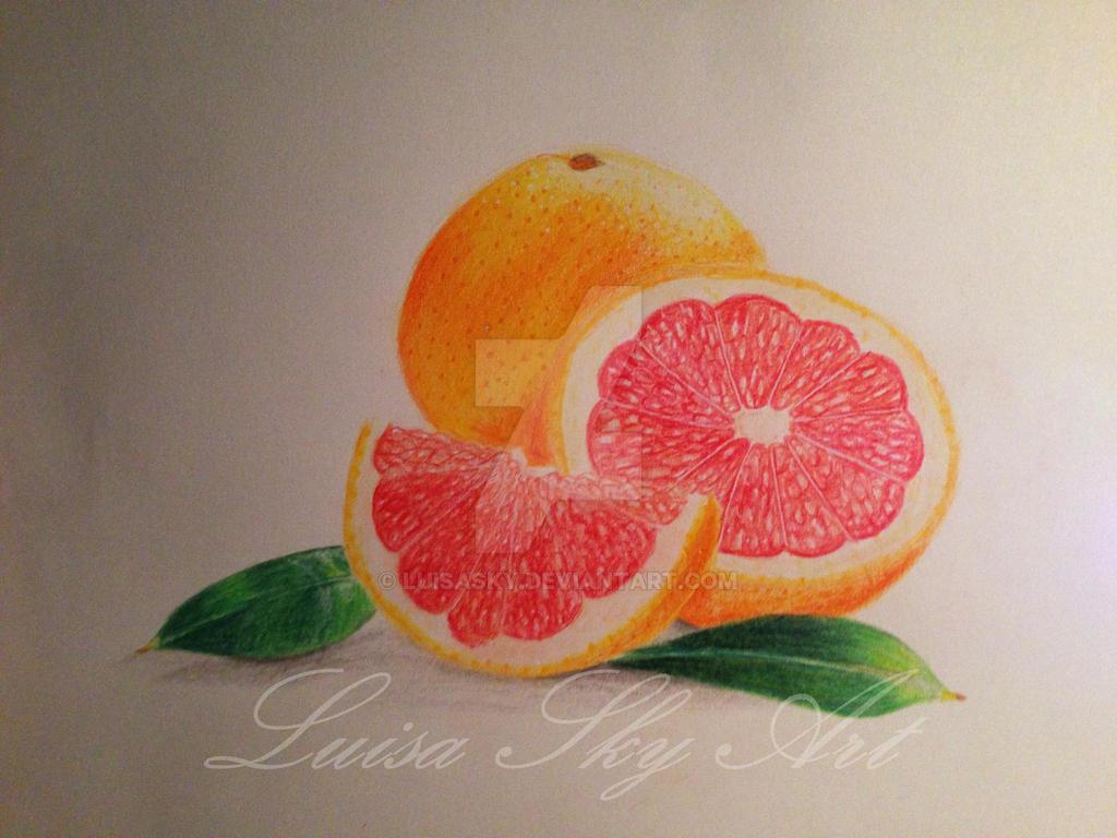 Blood orange by LuisaSky