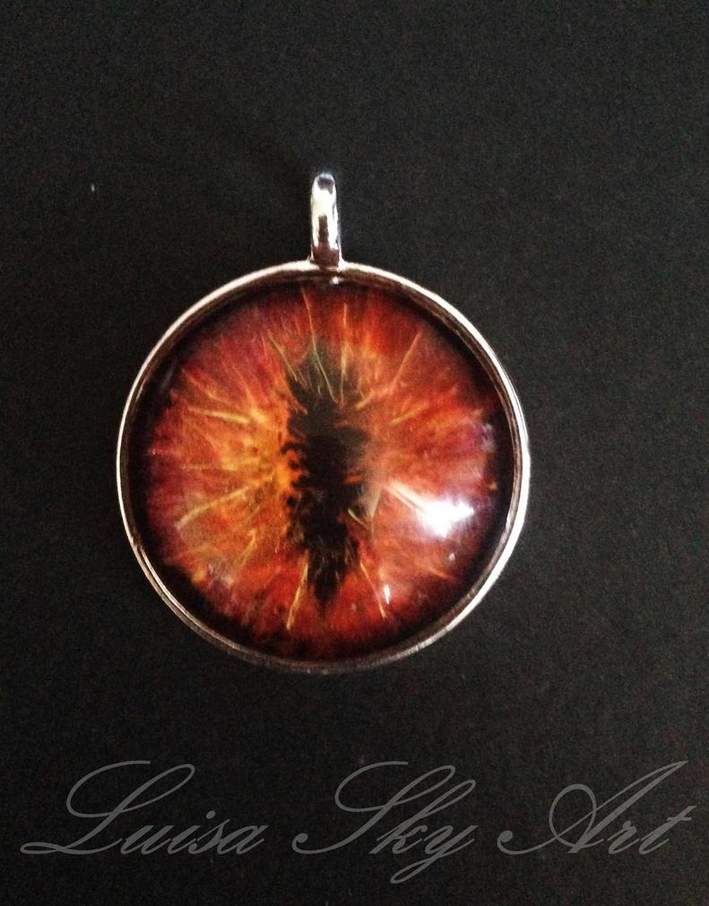 Handgemachter Schmuck: Dragon Eye by LuisaSky