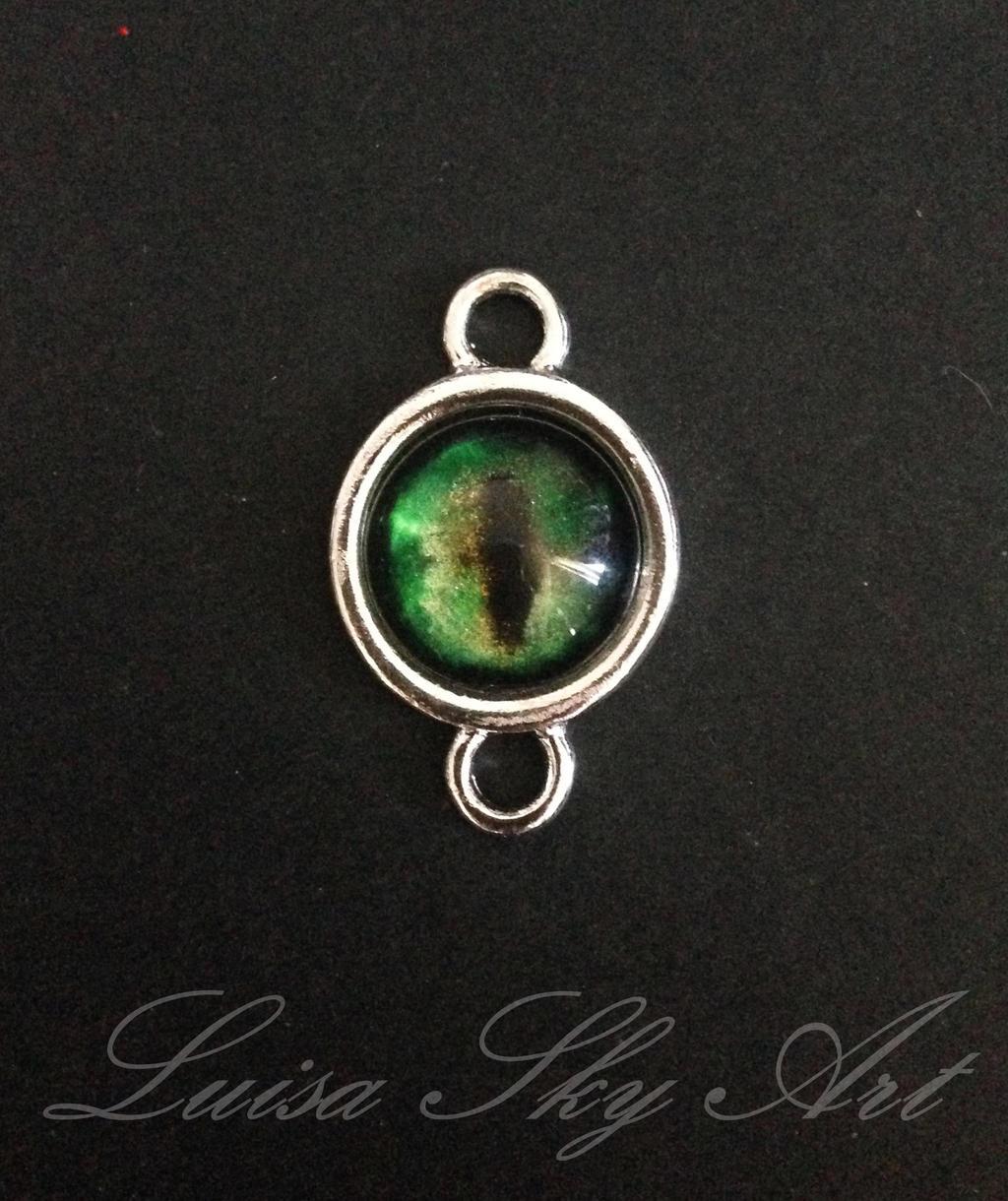 handgemachter schmuck green cat eye by luisasky on deviantart. Black Bedroom Furniture Sets. Home Design Ideas