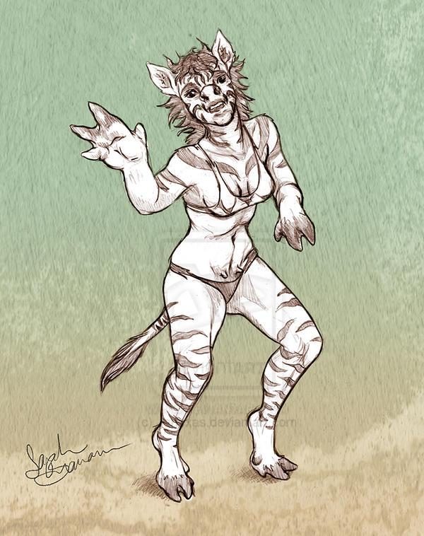 Zebra Girl TF by Janexas