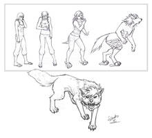 Werewolf Tf .: Commission :. by Janexas
