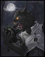 Werewolf Bday Gift by Janexas