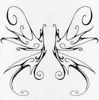 Swirly Wings by Janexas