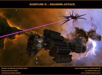 BABYLON 5 - Shadow-Attack by ulimann644