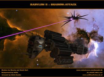 BABYLON 5 - Shadow-Attack by ulimann644