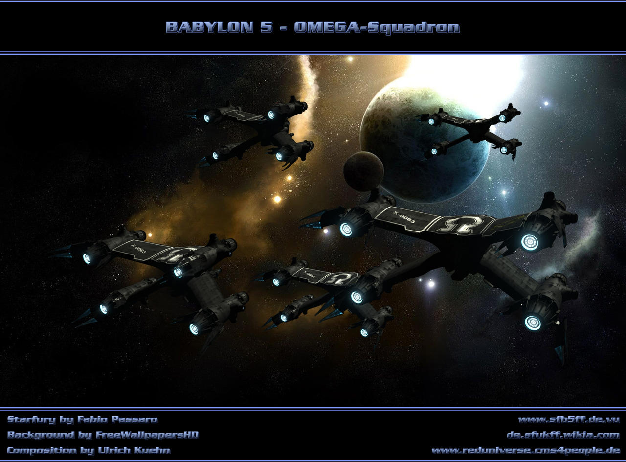 BABYLON 5 - OMEGA-SQUADRON by ulimann644
