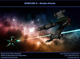 BABYLON 5 - Drakh-Attack by ulimann644