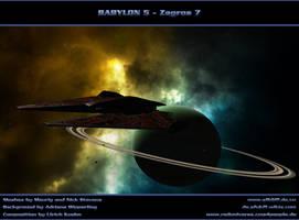 BABYLON 5 - Zagros 7 by ulimann644