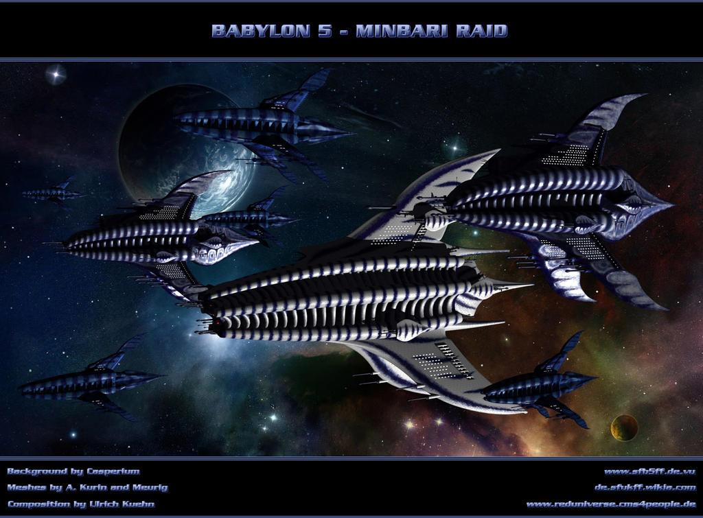 BABYLON 5 - Minbari Raid by ulimann644
