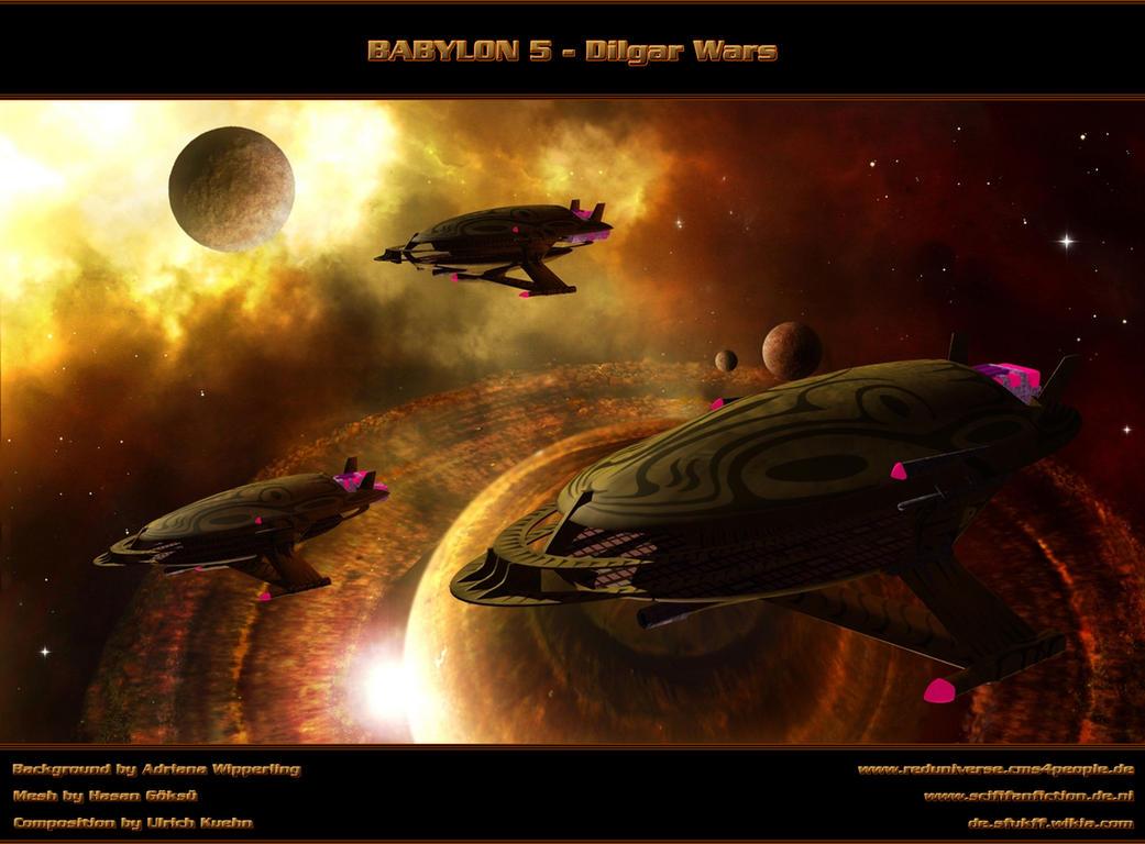 BABYLON 5 - DILGAR WARS - Finale Battle by ulimann644