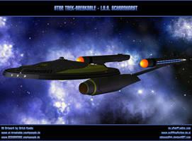 STAR TREK - ISS SCHARNHORST / ICC-1966 by ulimann644