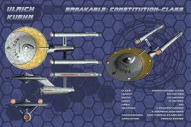 STAR TREK - BREAKABLE: Constitution-Class Orthos by ulimann644