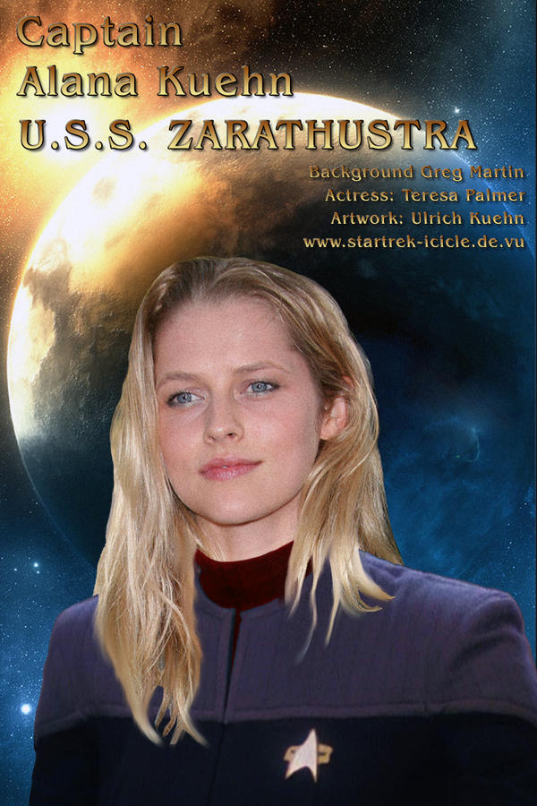 STAR TREK - ICICLE: Alana Kuehn by ulimann644