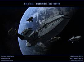 STAR TREK - ENTERPRISE: True friends by ulimann644