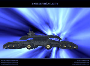 STARGATE-ATLANTIS: Faster than light
