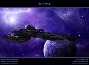 STARGATE-ATLANTIS: Sentinel by ulimann644