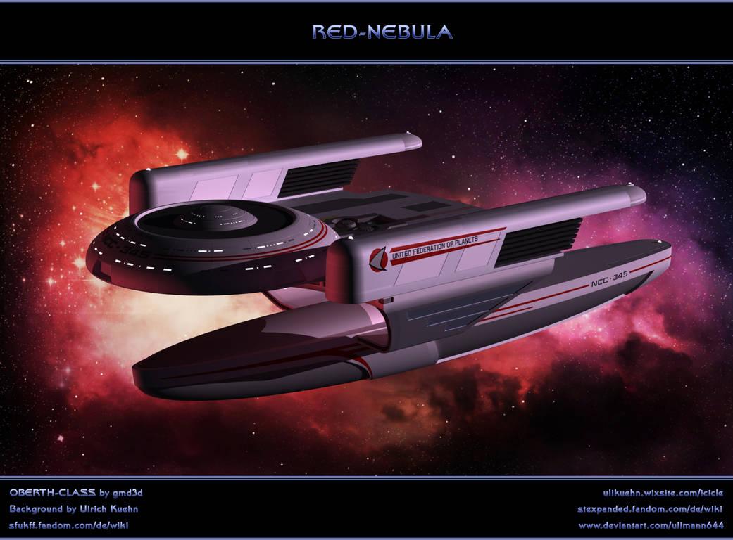 STAR TREK: Red Nebula by ulimann644