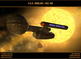 STAR TREK: USS CAROLINA / NCC-160