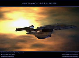 STAR TREK: USS ALAMO - LAST SUNRISE by ulimann644
