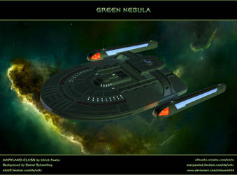 STAR TREK: Green Nebula by ulimann644