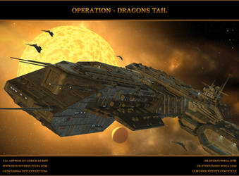 STARGATE-ATLANTIS: Operation - Dragons Tail by ulimann644