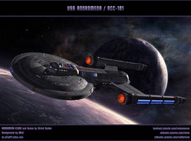 STAR TREK - AFTERMATH: USS ANDROMEDA / NCC-101 by ulimann644