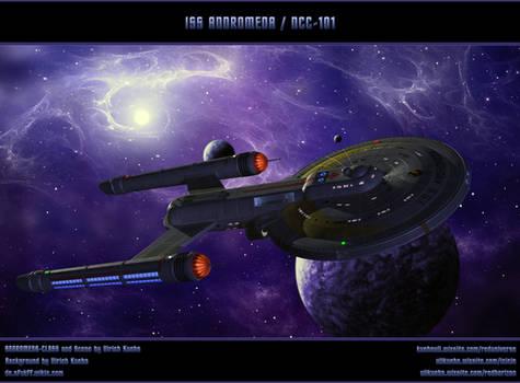 STAR TREK - BREAKABLE: ISS ANDROMEDA / NCC-101