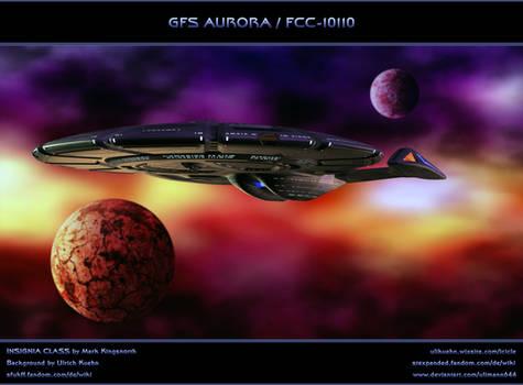 STAR TREK - TRIANGULUM: GFS AURORA / FCC-10110