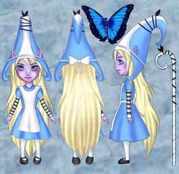 Lulu Wonderland Skin Concept by Taez