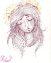 Flower Girl by Taez