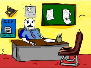 Grim Fandango Office by Karimi