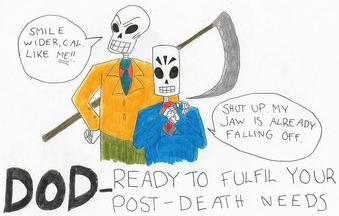 DOD Poster by VampireNaomi