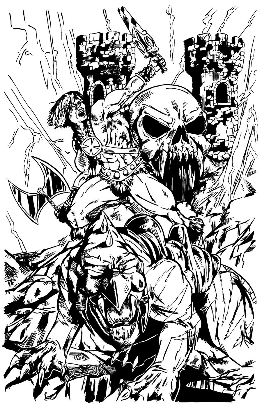 He Man inks by pycca on DeviantArt