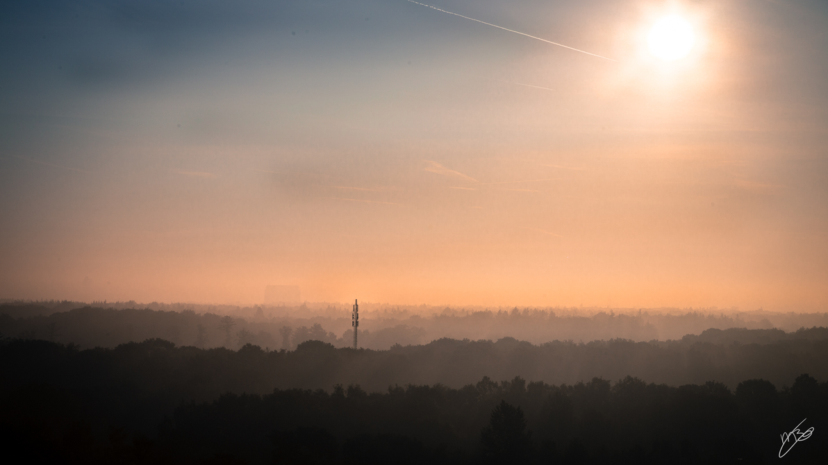 Sunrise Eindhoven by MBijen