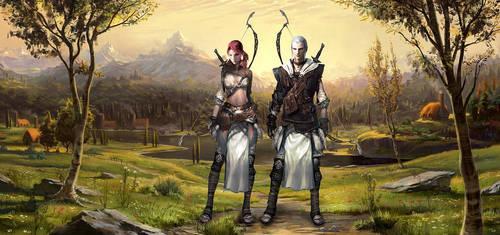 Elvish Archers by Vynthallas