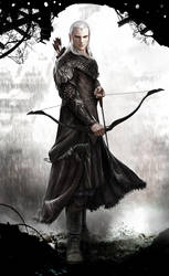 Elven Archer reloaded by Vynthallas