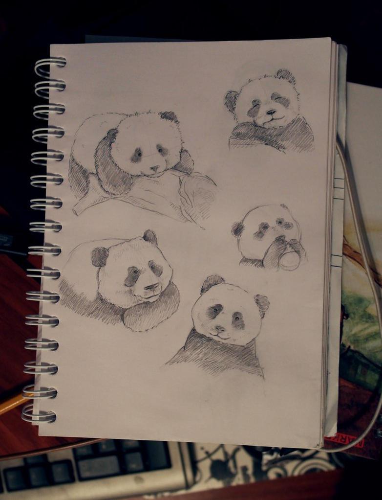 Pandas by Volchenka69