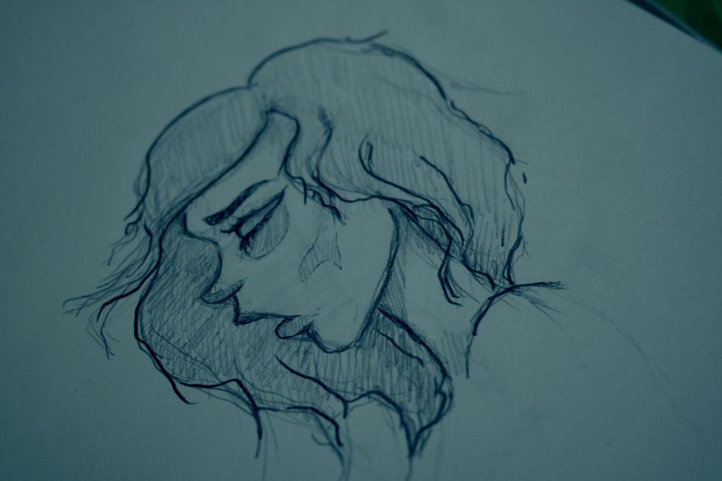 sadness by Volchenka69