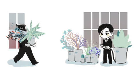 Flower shop by wilsonmaan