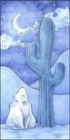 Desert Polar Bear by ffufi