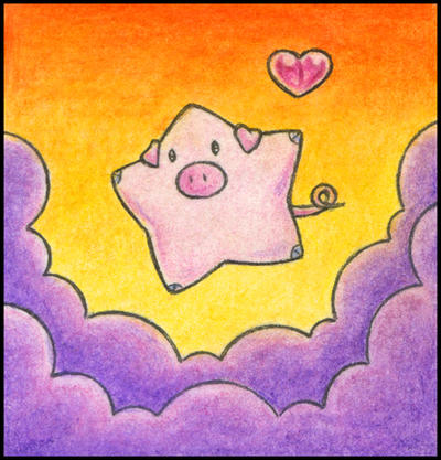 Star Pig by ffufi