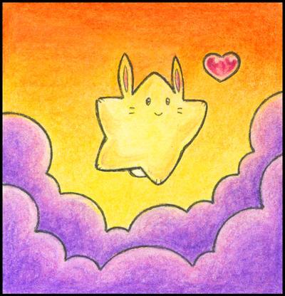Star Bunny by ffufi