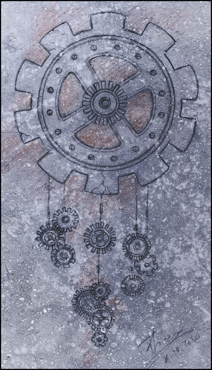 Mechanical Dreamcatcher by ffufi