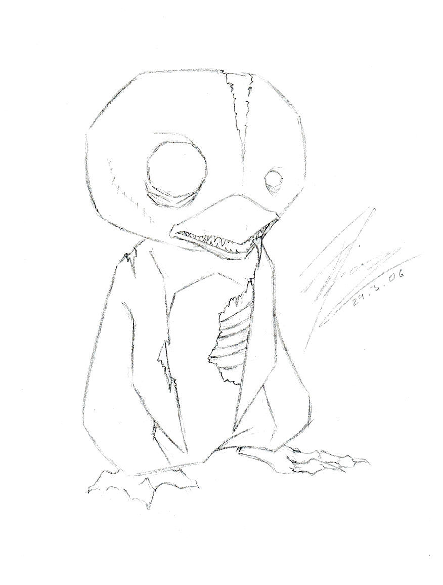 Best songs Halloween together with  moreover 298152437802327921 in addition Zombie Penguin 31276183 as well Ahs Coloring Pages Sketch Templates. on scary evil penguins