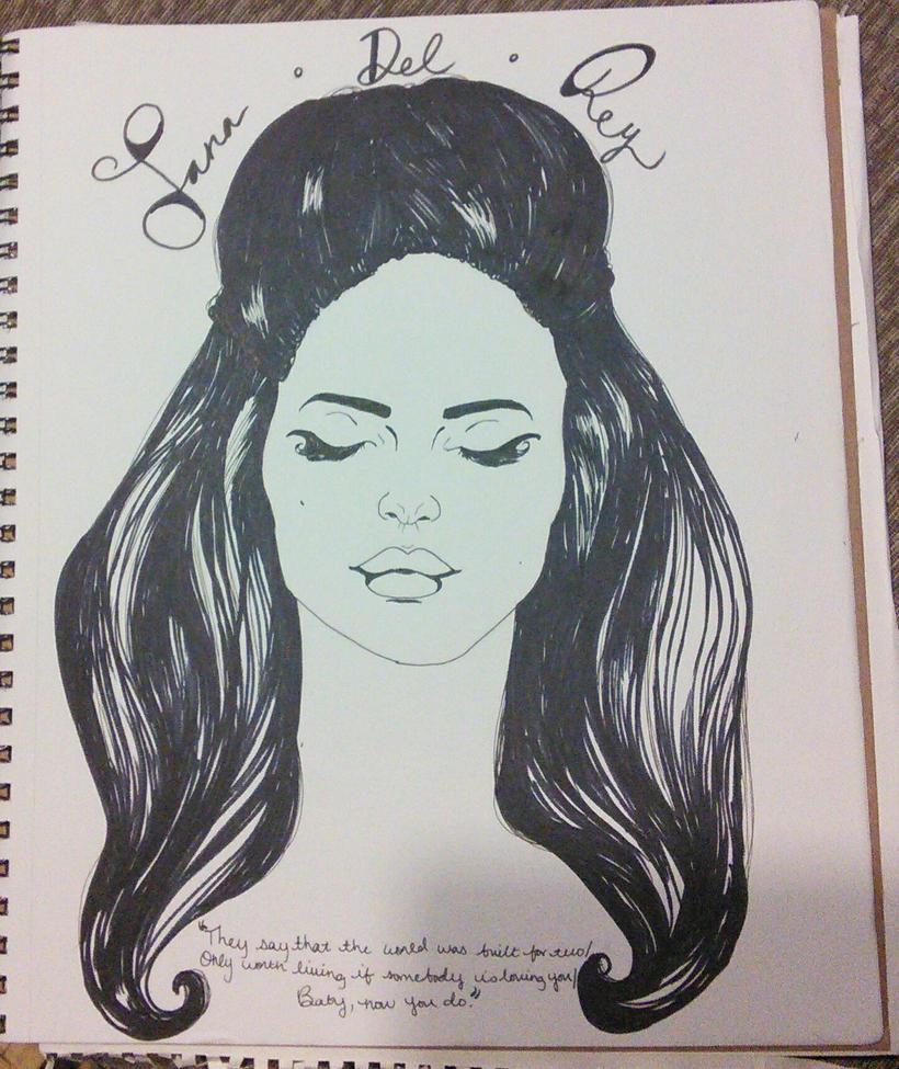 Lana.Del.Rey by Demonic-Fantasy