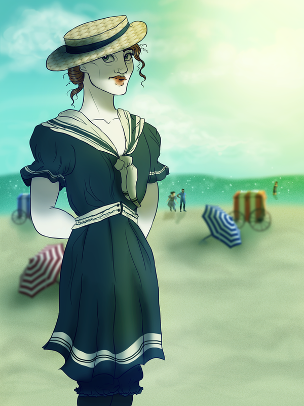 Sun and Sea and Sand by Demonic-Fantasy